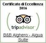 B&B Alghero: tripadvisor Certificate